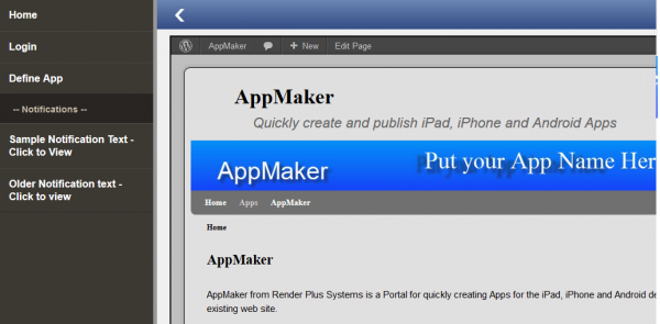 AppMaker page 2
